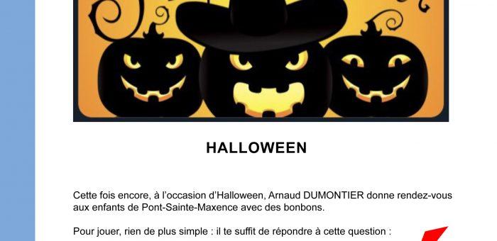 Halloween annulé