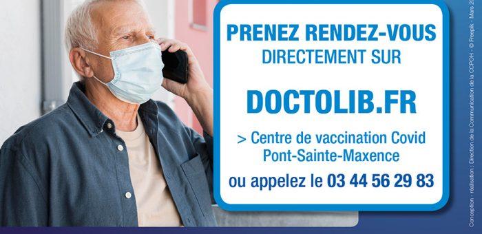 Vaccination covid19 Pont-Sainte-Maxence, étendue aux plus de 70 ans