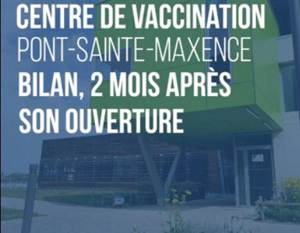 Centre de vaccination à Pont-Sainte-Maxence