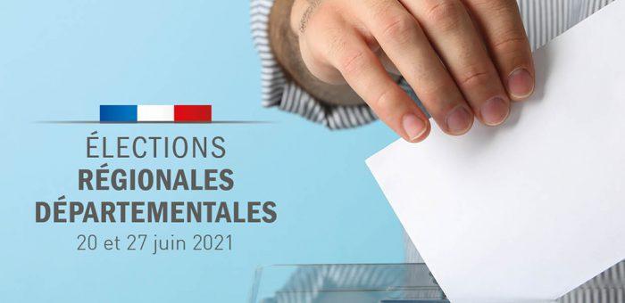 Résultats des élections régionales et départementales 2021 – 1er tour
